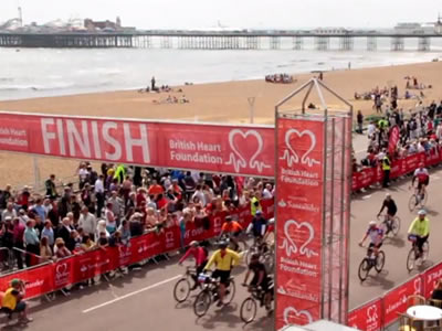London to Brighton bike ride 2014